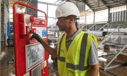 WES + Fire Alarm System